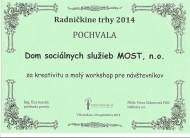 Ocenenie_Radnikcine trhy_MOST